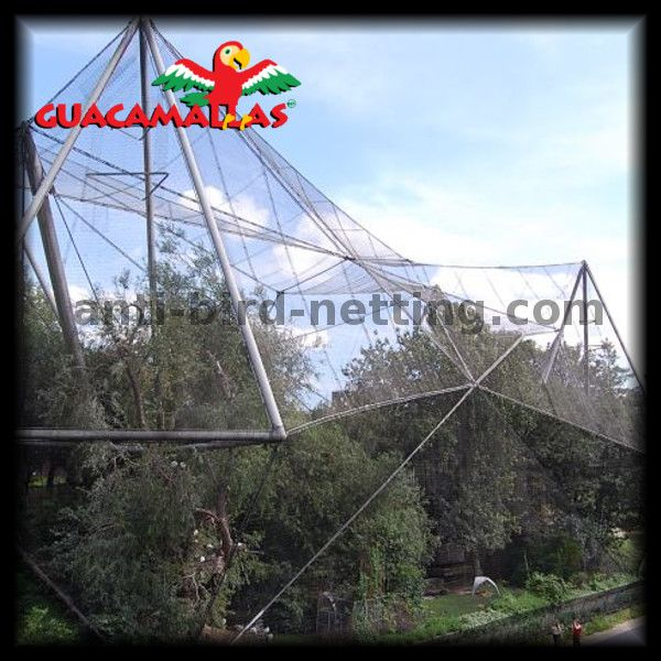 GUACAMALLAS Anti Bird Netting, Also Works Great for Aviaries